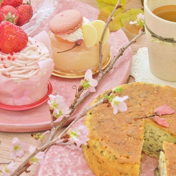 「春」香るお菓子たち