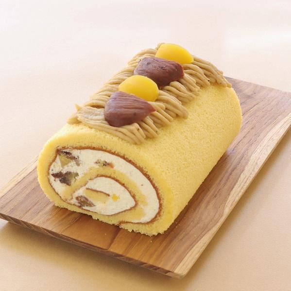 季節限定<br />お米のロールケーキ「和栗」