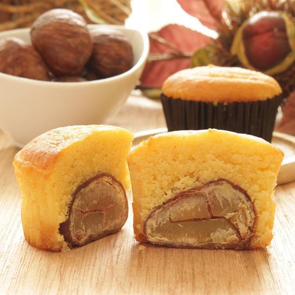 秋の恵み<br />和栗や安納芋を使った洋菓子