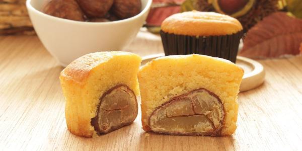 秋の恵み <br />和栗や安納芋を使った洋菓子