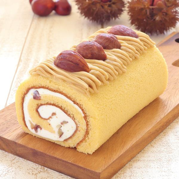 9月~<br />お米のロールケーキ「和栗」