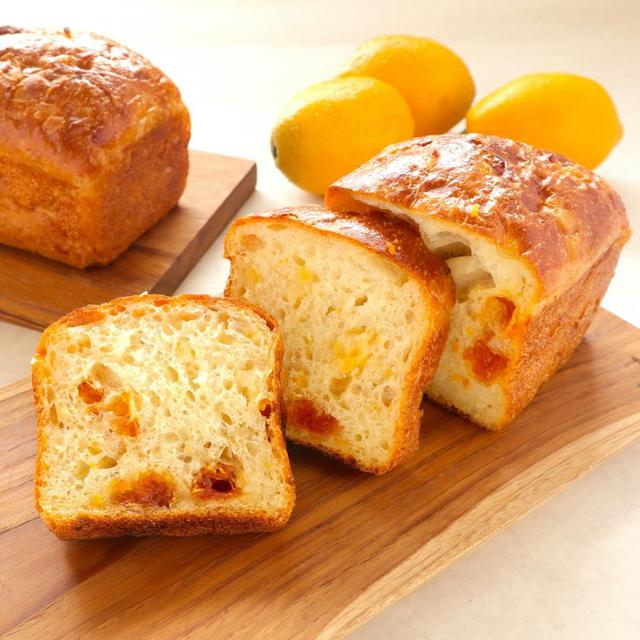 無農薬栽培のマイヤーレモン酵母のミニ食パン