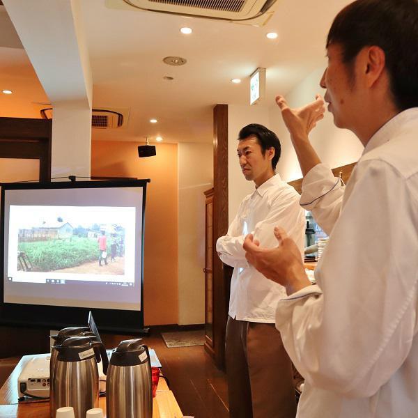 ラ・テールの「新オリジナルブレンドコーヒーを楽しむ会」開催しました