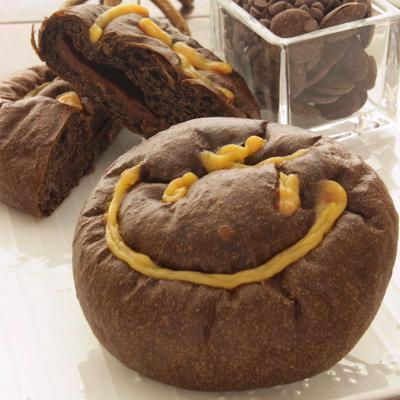 ヘーゼルナッツとチョコレートのクリームパン.JPGのサムネイル画像