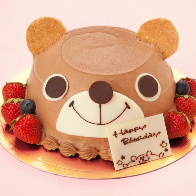 クマさんのチョコケーキ