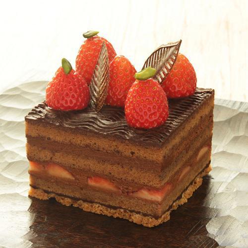 本店限定2018年2月サンクス・ケーキ 「とっておきのチョコレートケーキ」