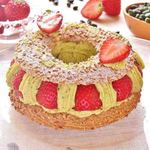 本店限定2018年4月サンクス・ケーキ 「ミガキイチゴの王冠」