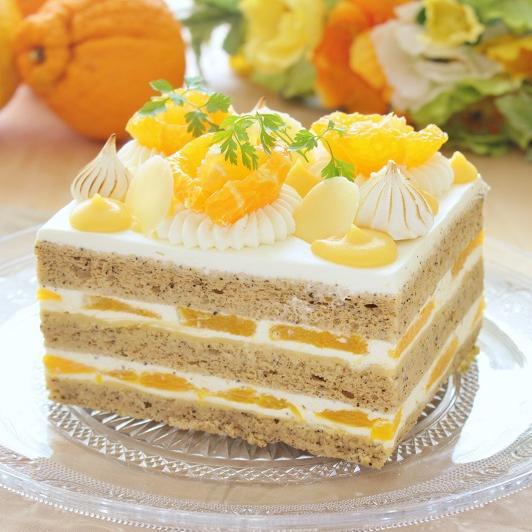 本店限定2018年5月サンクス・ケーキ 「初夏のティータイム」