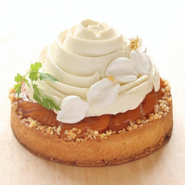 本店限定2018年7月サンクス・ケーキ「丸ごと杏のタルト」