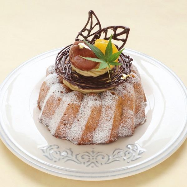 本店限定2018年10月サンクス・ケーキ「栗づくしの王冠」
