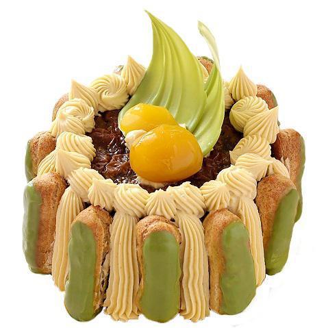 本店限定2019年9月サンクス・ケーキ「初栗抹茶」