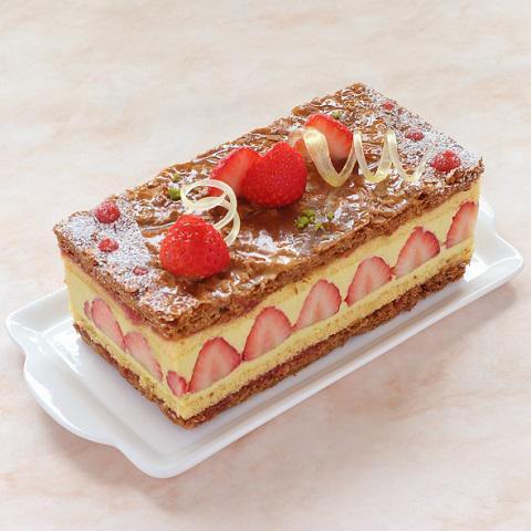 本店限定2019年12月サンクス・ケーキ「冬のいちご摘み」