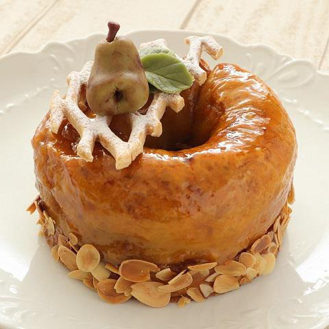 本店限定2020年11月サンクス・ケーキ「ラ・フランスの王冠」