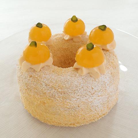 本店限定2021年3月サンクス・ケーキ「春の花冠(はなかんむり)」