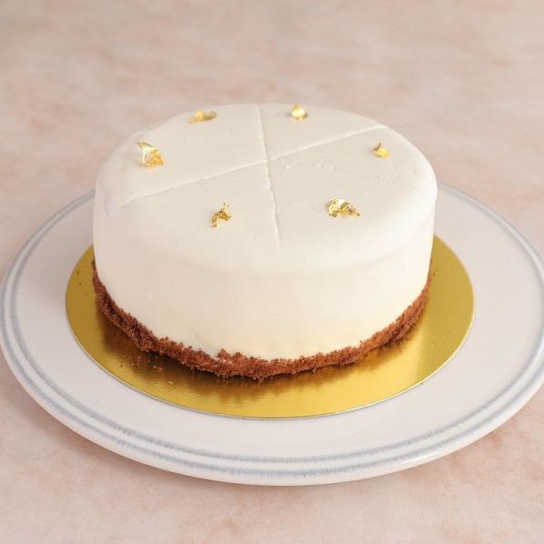 本店限定2021年8月サンクス・ケーキ「夏のスノードーム」